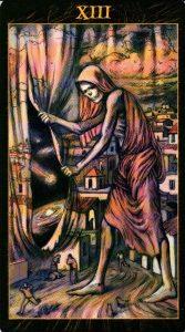 13 Смерть Таро Возрождения 2012Tarot of Ascension