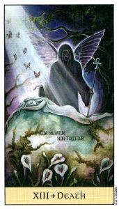 13 Смерть Crystal Visions Tarot