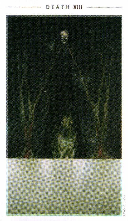 13 Смерть The Fountain Tarot