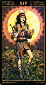 14 Умеренность Таро Возрождения 2012Tarot of Ascension