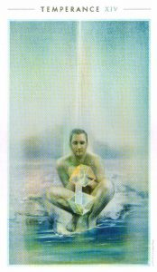 14 Умеренность The Fountain Tarot