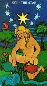 17 Аркан Звезда Morgan - Greer Tarot