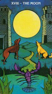 18 Аркан Луна Morgan - Greer Tarot