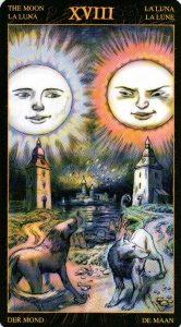 18 Луна Таро Возрождения 2012Tarot of Ascension
