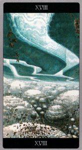 18 Луна Таро Мета-Баронов