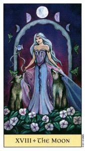 18 Луна Crystal Visions Tarot