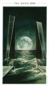 18 Луна The Fountain Tarot