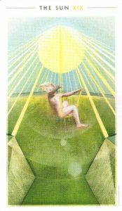 19 Солнце The Fountain Tarot