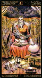 2 Верховная Жрица Таро Возрождения 2012Tarot of Ascension