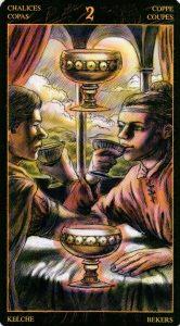 2 Кубков Таро Возрождения 2012Tarot of Ascension