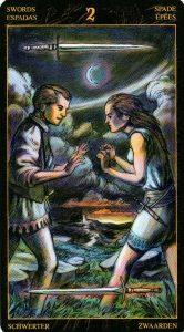 2 Мечей Таро Возрождения 2012Tarot of Ascension