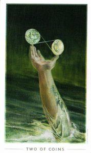 2 Монет The Fountain Tarot