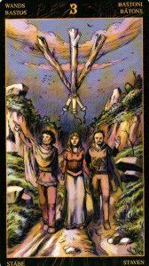 3 Жезлов Таро Возрождения 2012Tarot of Ascension