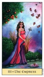3 Императрица Crystal Visions Tarot