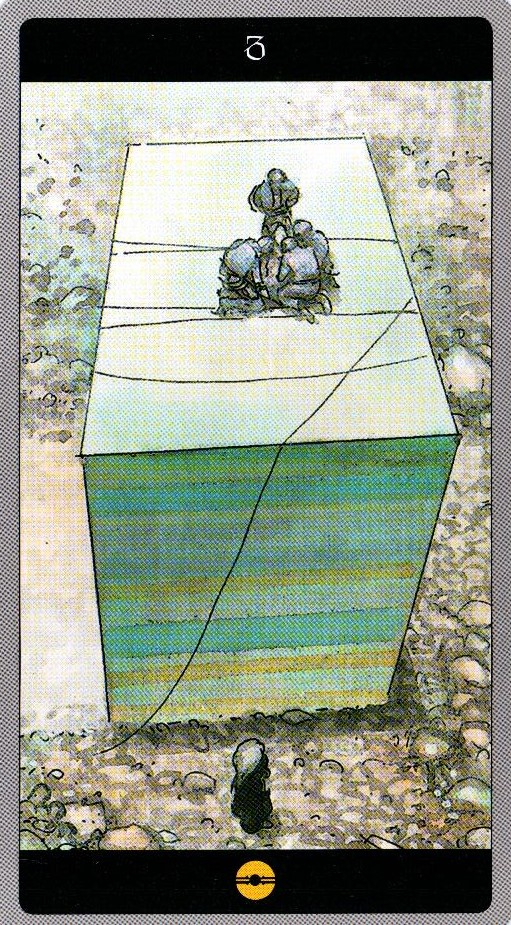 3 Пентаклей Таро Мета-Баронов
