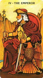4 Аркан Император Morgan - Greer Tarot