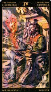 4 Император Таро Возрождения 2012Tarot of Ascension