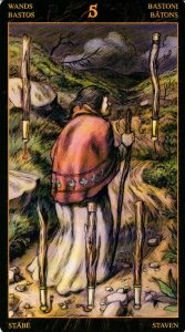 5 Жезлов Таро Возрождения 2012Tarot of Ascension