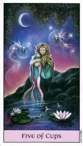 5 Кубков Crystal Visions Tarot
