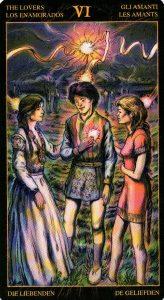 6 Влюбленные Таро Возрождения 2012Tarot of Ascension