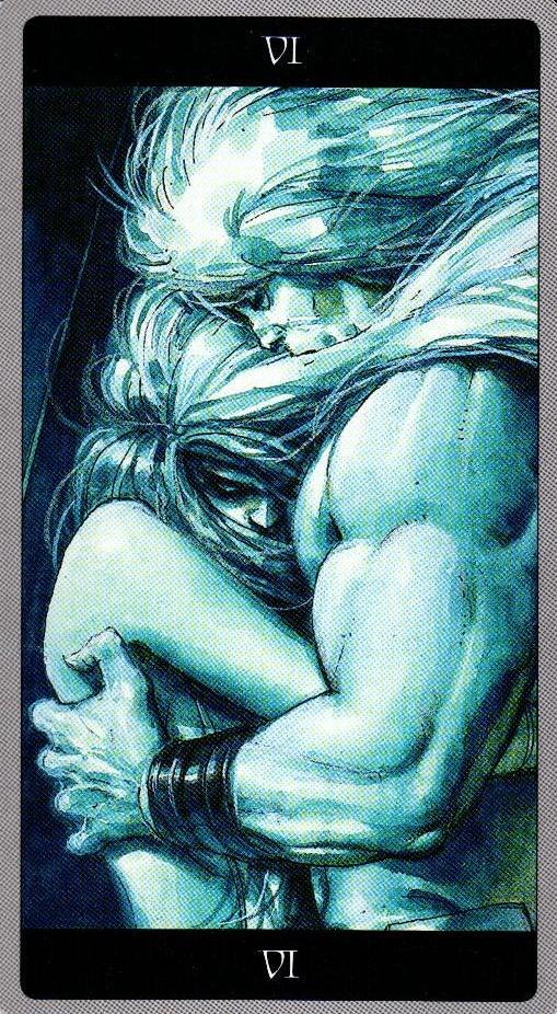6 Влюбленные Таро Мета-Баронов