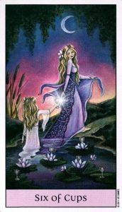 6 Кубков Crystal Visions Tarot