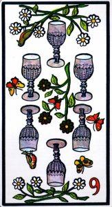6 Кубков El Gran Tarot Esoterico Fournier