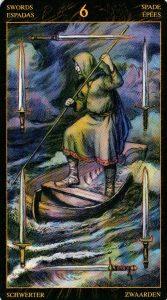 6 Мечей Таро Возрождения 2012Tarot of Ascension