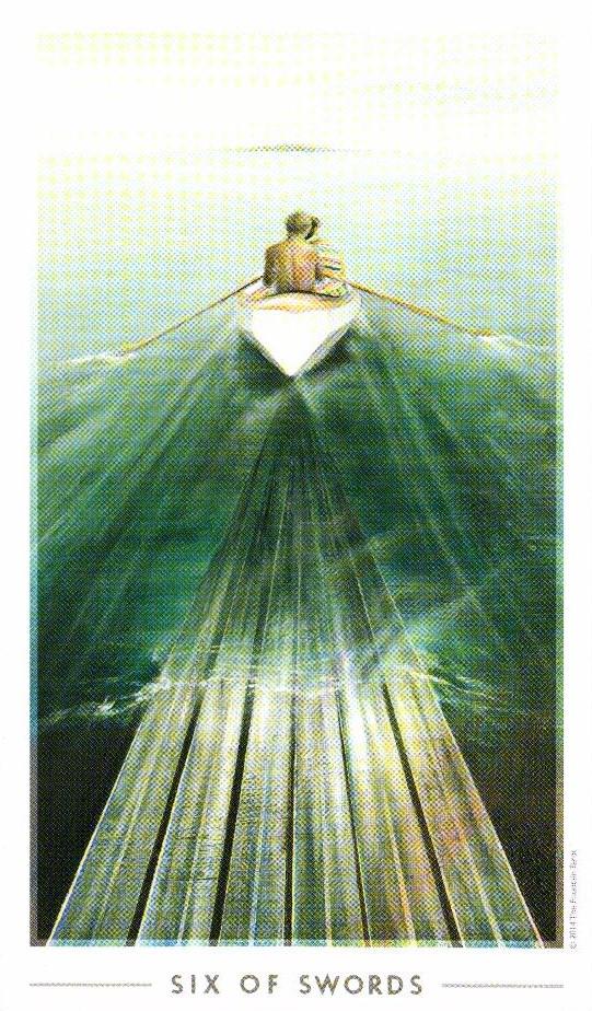 6 Мечей The Fountain Tarot