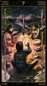 7 Жезлов Таро Возрождения 2012Tarot of Ascension