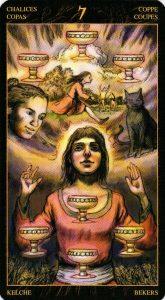 7 Кубков Таро Возрождения 2012Tarot of Ascension