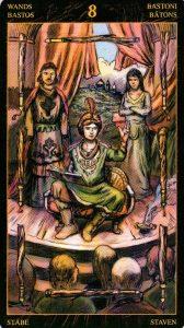 8 Жезлов Таро Возрождения 2012Tarot of Ascension