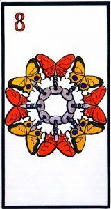 8 Кубков El Gran Tarot Esoterico Fournier