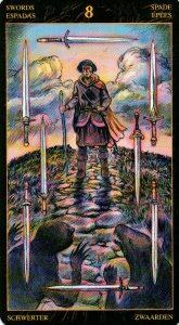 8 Мечей Таро Возрождения 2012Tarot of Ascension