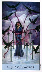 8 Мечей Crystal Visions Tarot