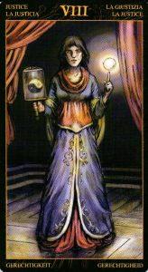 8 Правосудие Таро Возрождения 2012Tarot of Ascension