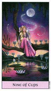9 Кубков Crystal Visions Tarot