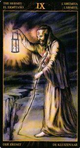 9 Отшельник Таро Возрождения 2012Tarot of Ascension