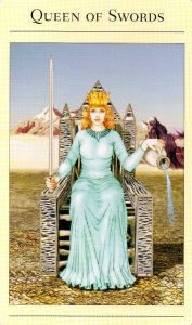 Королева Мечей The New Mythic Tarot