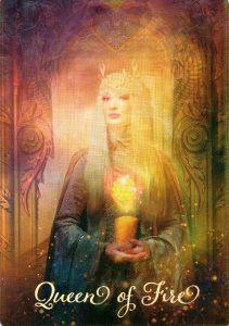 Королева Огня The Good Tarot