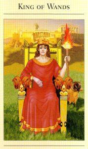 Король Жезлов The New Mythic Tarot