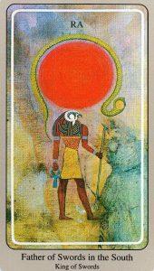 Король Мечей The Haindl Tarot