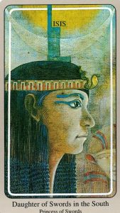 Принцесса Мечей The Haindl Tarot