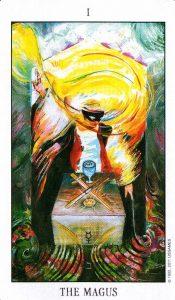 1 Аркан Маг Tarot of the Spirit