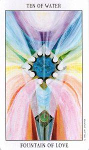 10 Воды Tarot of the Spirit