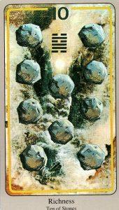 10 Камней The Haindl Tarot