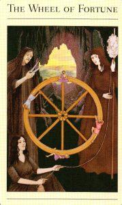 10 Колесо Фортуны The New Mythic Tarot