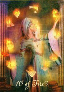 10 Огня The Good Tarot