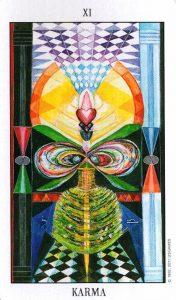 11 Аркан Карма Tarot of the Spirit