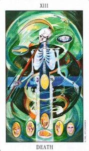 13 Аркан Смерть Tarot of the Spirit